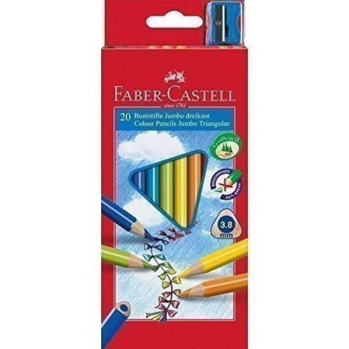 Карандаши цветные Junior Grip, 20 цветов цветные карандаши grip 2001 набор цветов в студийной кожзам коробке 36 шт