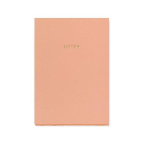 Блокнот Цветной блок А5, 80 листов, коралловый блокнот цветной блок а4 40 листов крафт