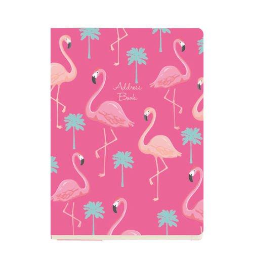 "Адресная книга ""Фламинго"" А5, 15 х 21 см"