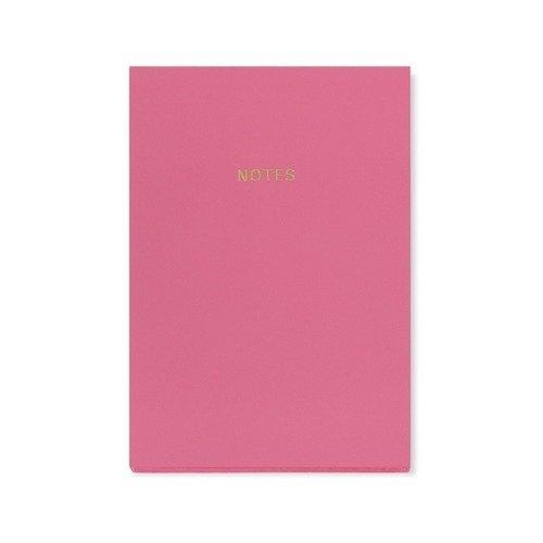 Блокнот Цветной блок А5, светло-розовый бюро находок блокнот оригами розовый слон 40 листов