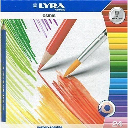 Цветные акварельные карандаши Osiris Aquarell, 24 цвета акварельные цветные карандаши graduate aquarell 12 цветов