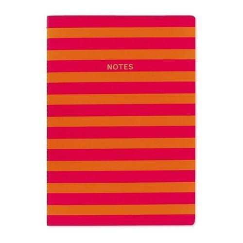 Блокнот Цветной блок. Оранжево-розовые полосы А4, 40 листов блокнот цветной блок а4 40 листов крафт