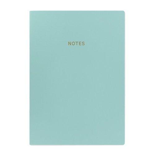 Блокнот Цветной блок А4, 40 листов, в линейку, голубой блокнот цветной блок а4 40 листов крафт