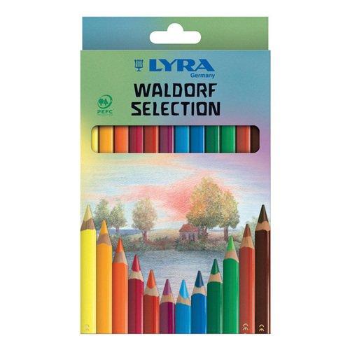 """Карандаши цветные """"Superferby Lacc Waldorf"""", 12 цветов"""