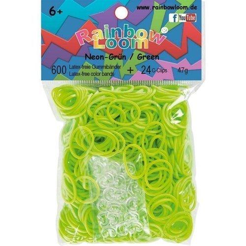 """Резинки для плетения """"Solid Bands"""", зеленые"""