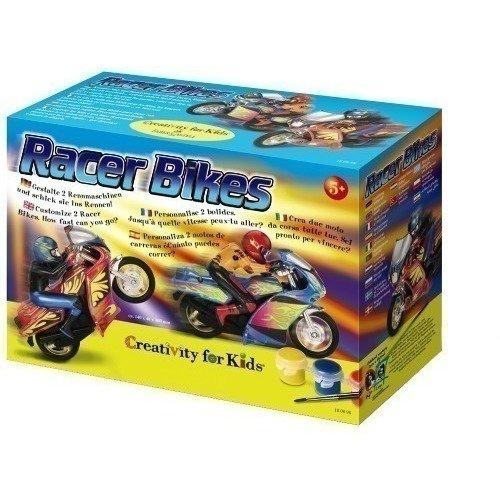 """Набор для детского творчества """"Гоночные мотоциклы"""" наклейки для мотоцикла lexin 3 1 handbar dual usb"""