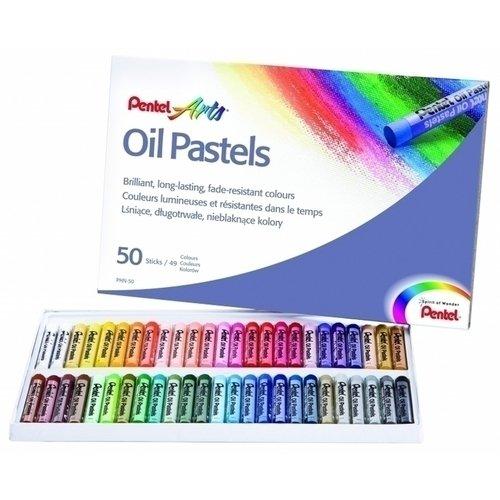 "Пастель масляная ""Arts Oil Pastels"", 50 цветов"