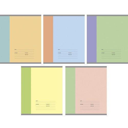 Тетрадь в линейку Разноцветная серия А5 в ассортименте еж стайл тетрадь a little sleep любовь в линейку 38 листов