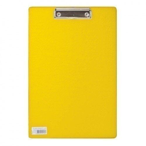 Доска-планшет Comfort с верхним прижимом А4, желтая планшет азбукварик планшет мультяшки повторяшки 4680019280158