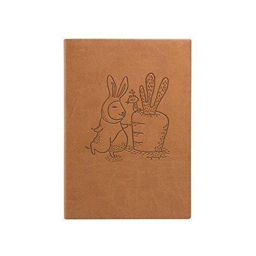 Блокнот Кролик А5 коричневый цена