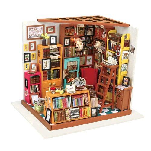 Интерьерный конструктор для творчества Sam's bookstore конструктор diy house библиотека