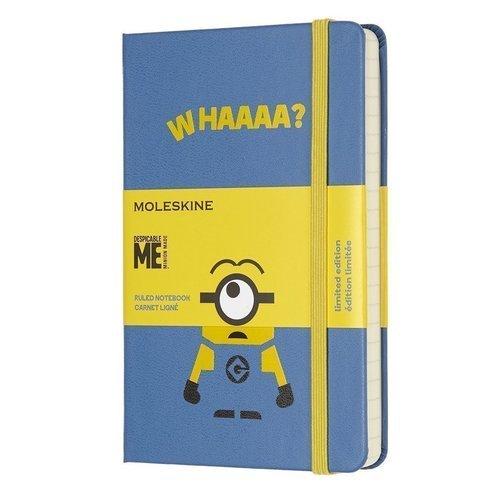 Блокнот Minions Pocket, 96 листов, в линейку, голубой блокнот peter pan indians pocket 96 листов в линейку
