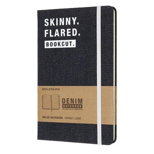 Блокнот в линейку Denim Skinny Flared Large skinny jagger stonewashed denim jeans