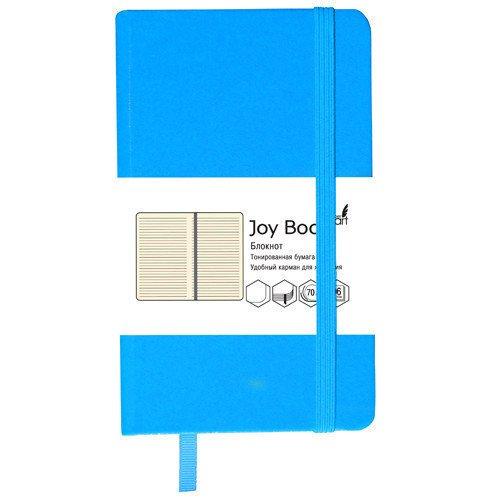 Блокнот Joy Book А5, 96 листов, в линейку, голубой цена