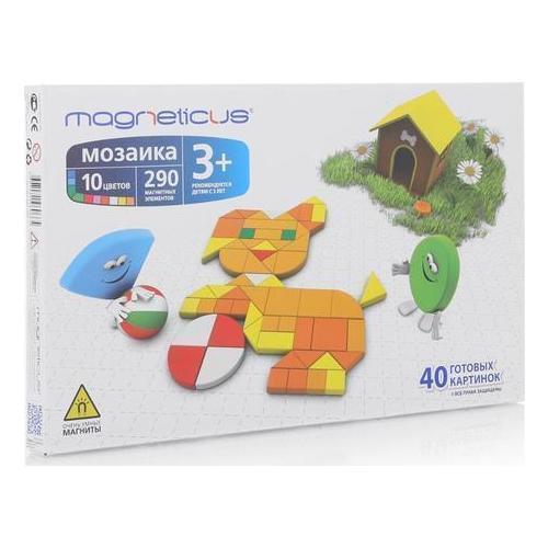 Купить Магнитная мозаика, 290 элементов, Magneticus, Мозаика