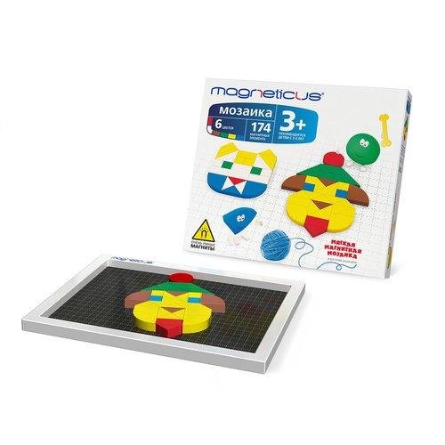 Купить Мозаика магнитная 174 элемента, Magneticus