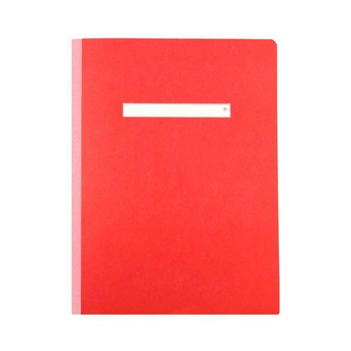 Тетрадь в клетку А5 красная рубашка в клетку красная in extenso