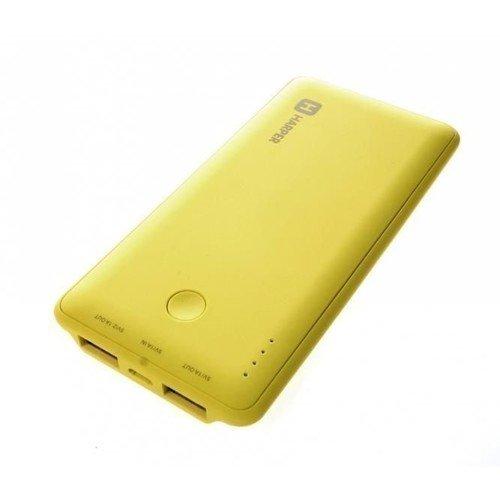 Фото - Внешний аккумулятор PB-6001, желтый, 6000 мАч внешний аккумулятор perston smile желтый