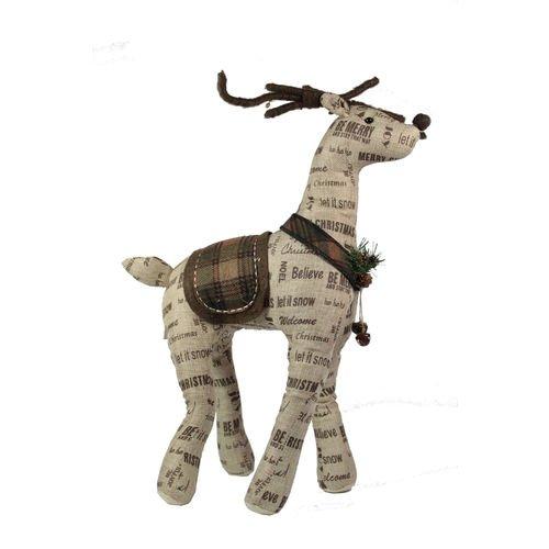 Мягкая игрушка Стоящий олень мягкая игрушка олень chl 500dr 28 см