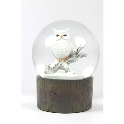 """Снежный шар """"Сова"""", 10 см цена в Москве и Питере"""