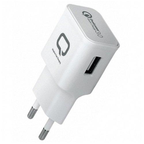 Сетевое зарядное устройство Quick Charge 3.0 сетевое зарядное устройство qumo energy 1xusb 1a черное 20775