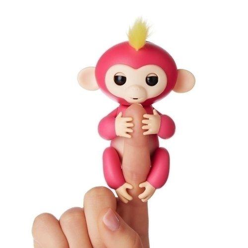Купить Интерактивная обезьянка Белла , розовая, WowWee, Интерактивные игрушки