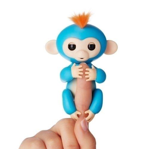 Купить Интерактивная обезьянка Борис , синяя, WowWee, Интерактивные игрушки