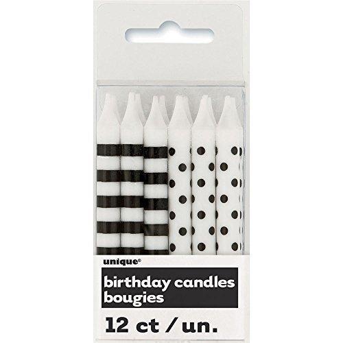 Набор свечей, черный набор свечей омский cвечной завод цвет оранжевый высота 24 см 10 шт