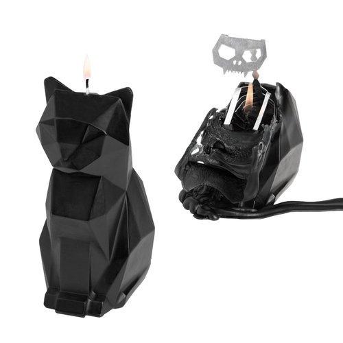 Свеча Kisa Candle, черная свеча праздничная lefard merry christmas 348 437 разноцветный 6 х 7 см