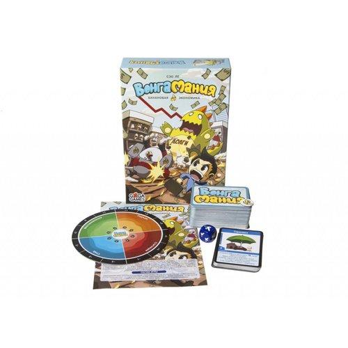Настольная игра Вонгамания настольная игра развивающая игрико логопедическая ромашка ж ш з с 6 раскрасок 564