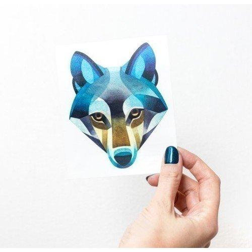 """Временное тату """"Wolf"""""""
