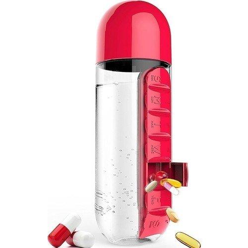 Бутылка In style, 600 мл, красная бутылка asobu in style pill organizer bottle цвет красный 600 мл
