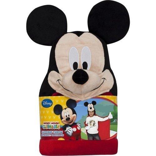 Плед с капюшоном Mickey Mouse, 100 х 100 см брюки barkito mickey mouse family