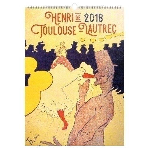 Календарь 2018 Toulouse- Lautrec julien clerc toulouse