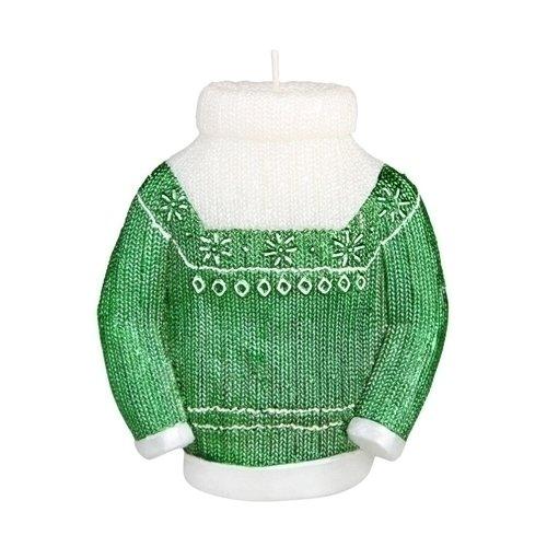 """Свеча """"Green sweater"""", 12 см"""
