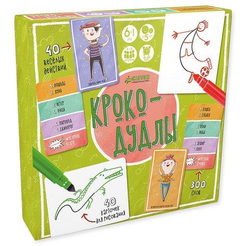 Купить Игра Крокодудлы , Clever, Игры для детей