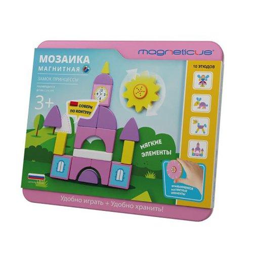 Магнитная мозаика Замок принцессы magneticus мозаика магнитная путешественник азбука magneticus