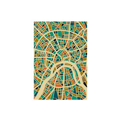 Ежедневник Графика. Цветная карта А5 полудатированный ежедневник плановик maestro de tiempo issey полудатированный а5 144 листа бронзовый