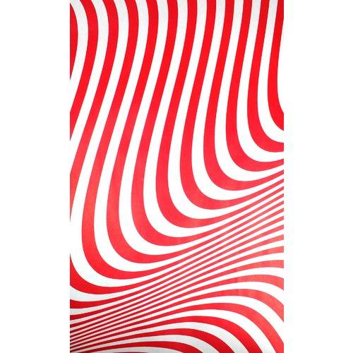 Упаковочная бумага Red Waves, 70 х 100 см упаковочная бумага 70 х 100 см зеленая
