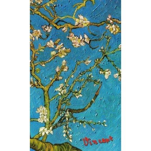 Блокнот Ван Гог. Цветущие ветки миндаля закладка с резинкой ван гог цветущие ветки миндаля арте