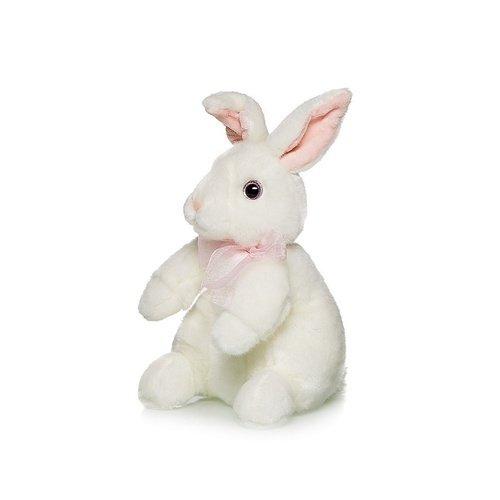 Мягкая игрушка Кролик Белый, 24 см игрушка брелок мягконабивная назад к истокам huggy buddha talisman