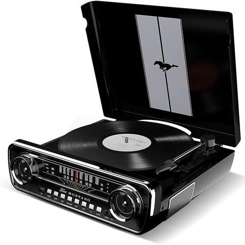 Виниловый проигрыватель с радио Mustang LP