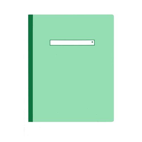 Тетрадь в клетку А5 зеленая тетрадь в клетку с нанесением текста школа