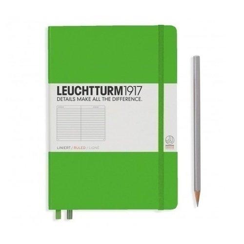 Блокнот А5, в линейку, зеленый блокнот classic large а5 240 стр в линейку