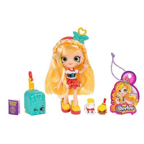 Купить Кукла Shoppies Сью Спагетти Путешествие в Европу , Moose, Куклы