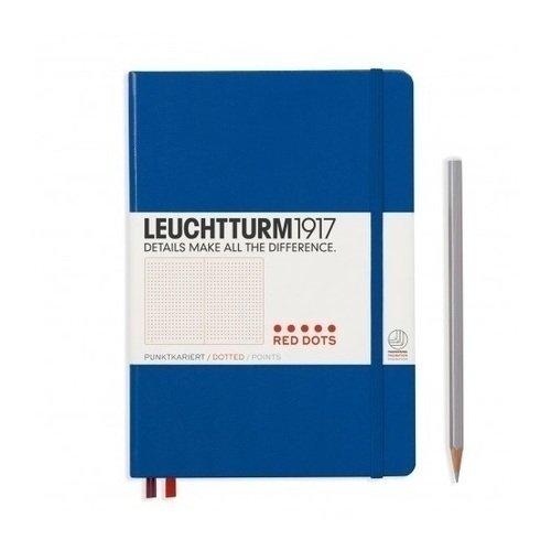 """Блокнот """"Красные точки"""" Leuchtturm 1917 А5, 125 листов, в точку"""