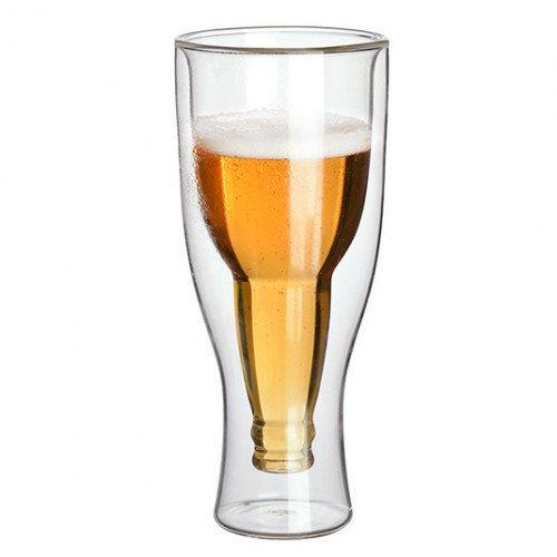 Стакан стеклянный для пива DOUBLE PAROI