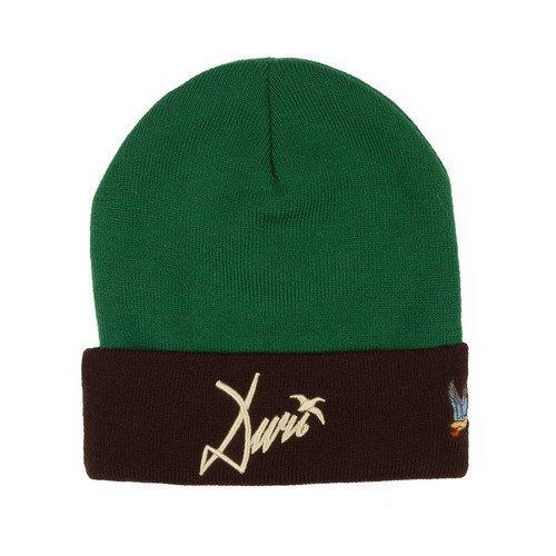 Шапка Ditch, зеленая шапка ditch зеленая