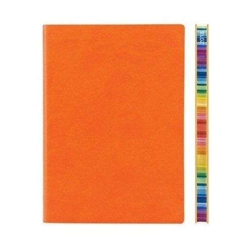 """Еженедельник датированный """"Signature Chromatic"""" А5 на 2018 год, 172 стр., оранжевый Daycraft"""