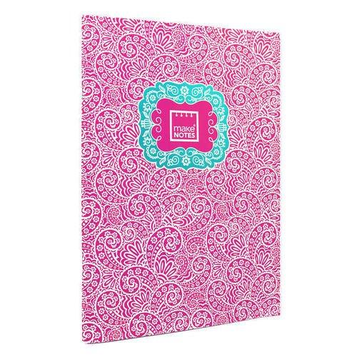 """Тетрадь """"Пейсли"""" А4, 40 страниц, розовая"""
